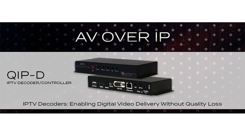 AV over IP Decoders