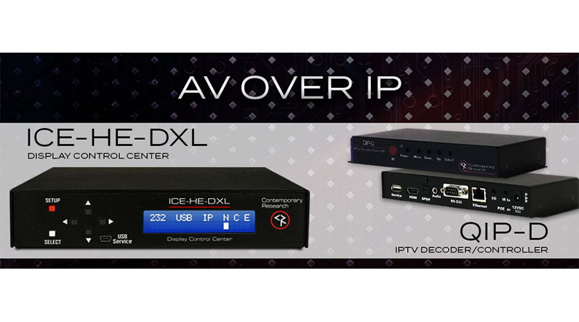 AV over IP Dipslay Control