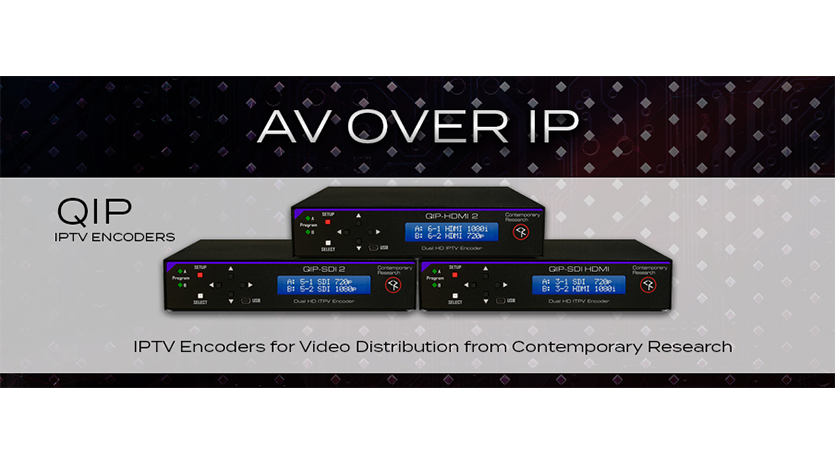 AV over IP Encoders