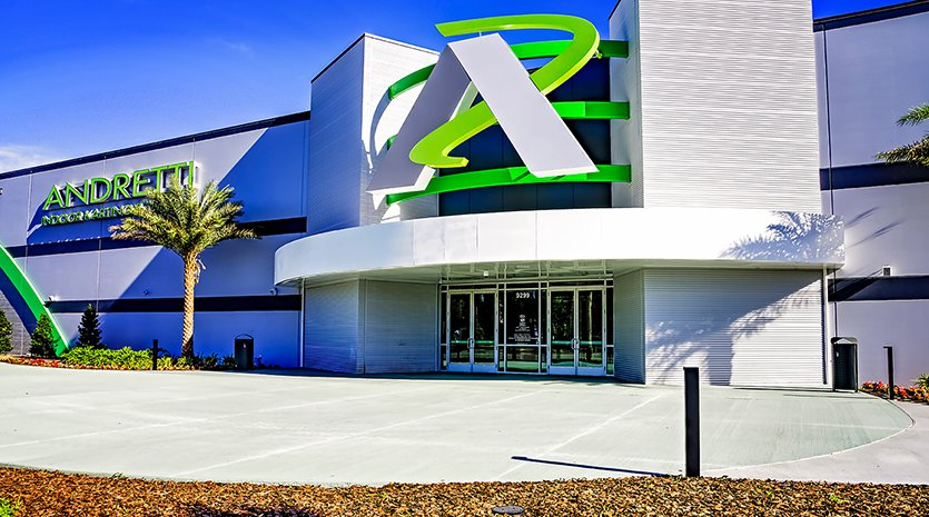 Andretti Karting and Games Orlando Exterior