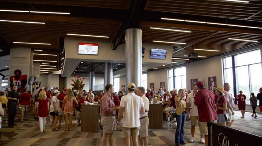 Champions Club at FSU Doak Campbell Stadium