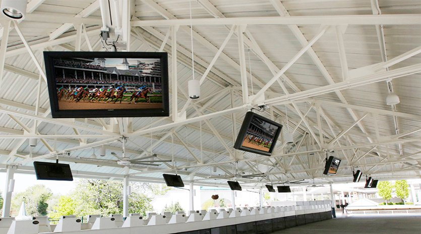 Churchill Downs CR Display Control