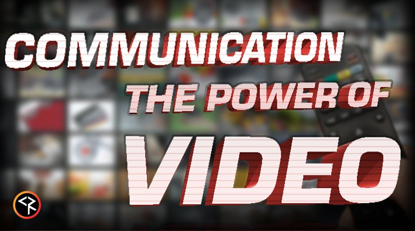 Communication the power of video with tv screens and remote