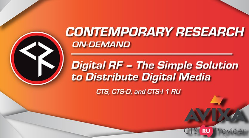 Digital RF – The Simple Solution to Distribute Digital Media Banner