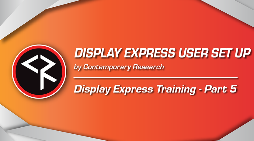 Display express part 5 red and orange banner