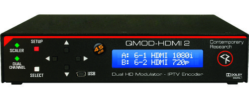 QMOD-HDMI 2 Front View