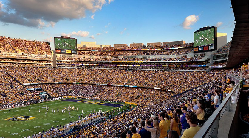 Tiger Stadium Game Day