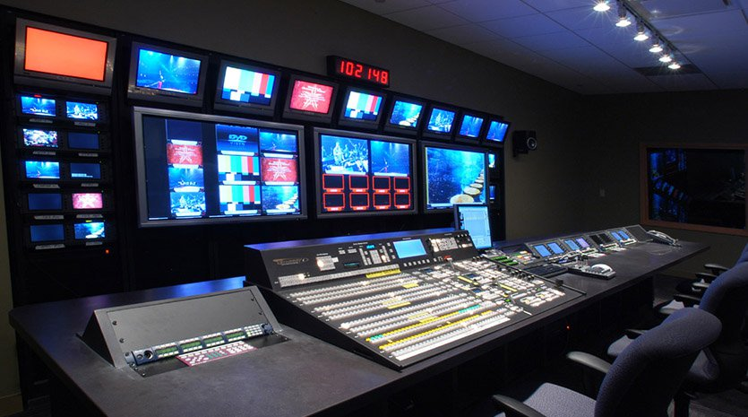 Willow Creek Church Video Control Room