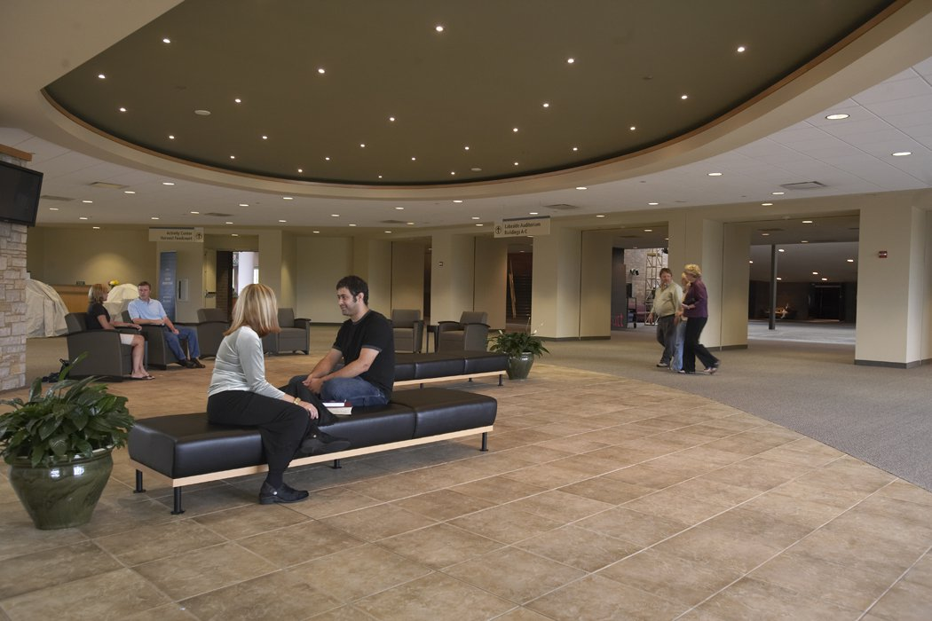 Willow Creek Church Lobby